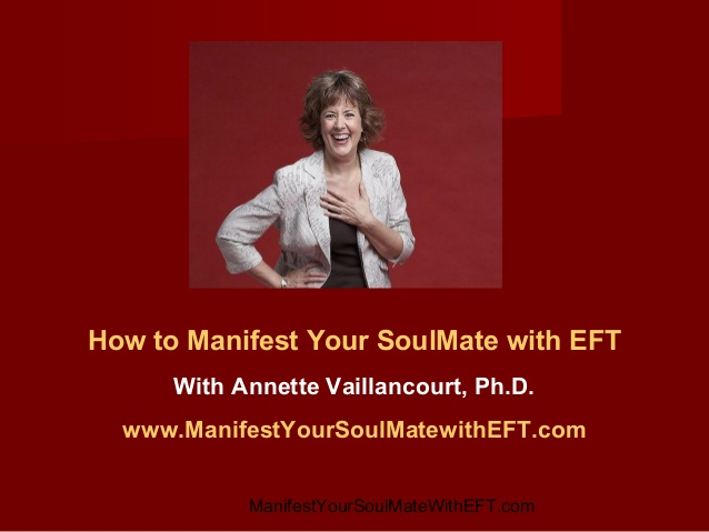 Soulmate Dance offers advice on finding your soulmate using EFT tapping
