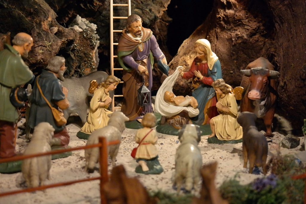 why this agnostic looks forward to putting out the Christmas creche
