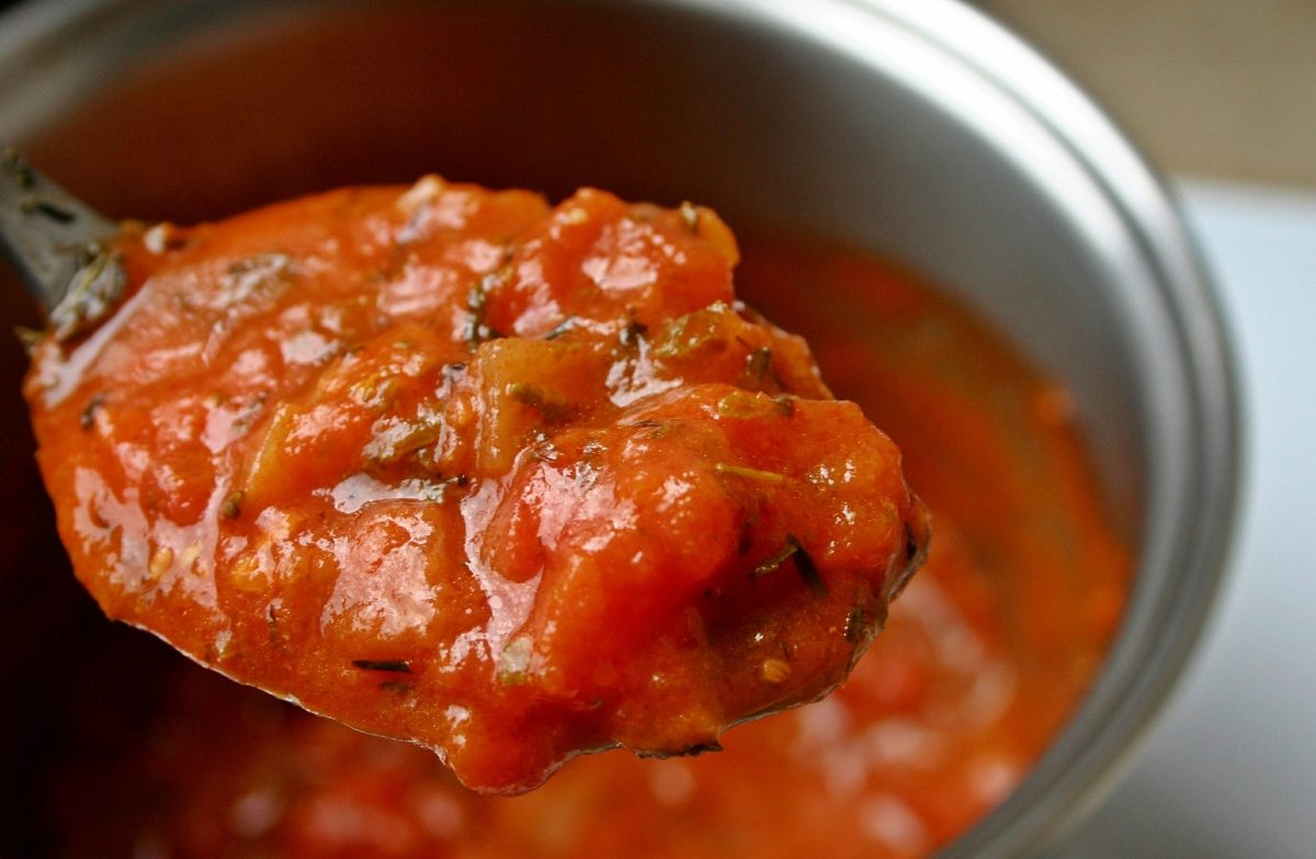almost famous marinara sauce (recipe included)