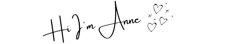 hi I'm Anne